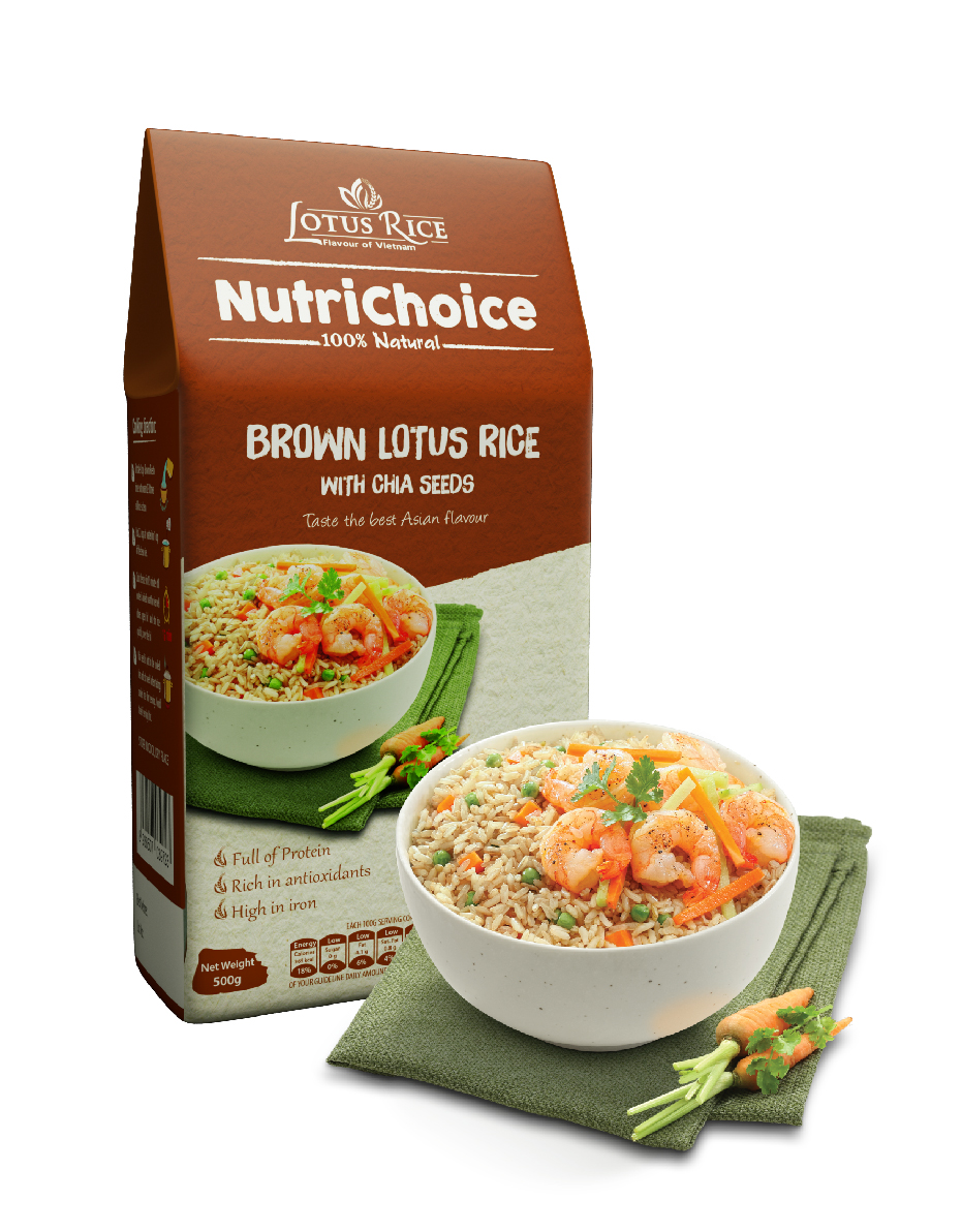 Brown Lotus Rice